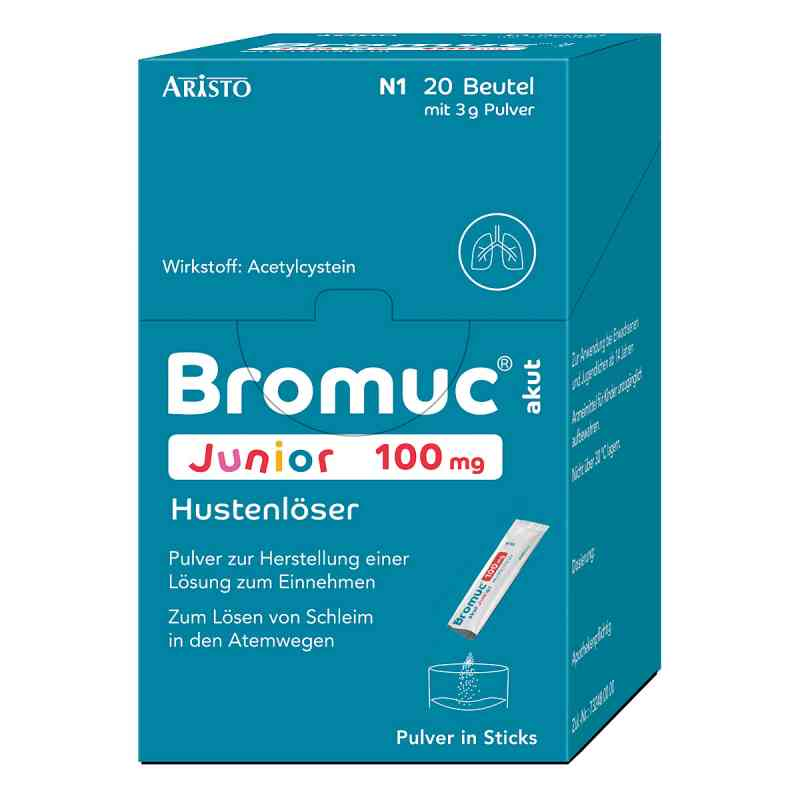 Bromuc akut Junior 100mg Hustenlöser  bei juvalis.de bestellen