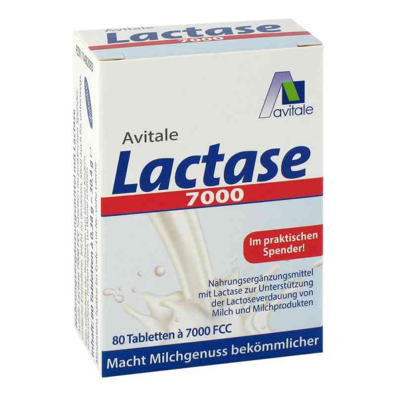 Lactase 7.000 Fcc Tabletten im Spender  bei juvalis.de bestellen