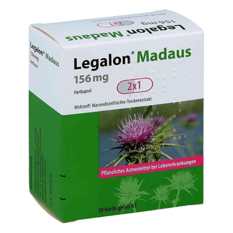 Legalon Madaus 156 mg Hartkapseln  bei juvalis.de bestellen