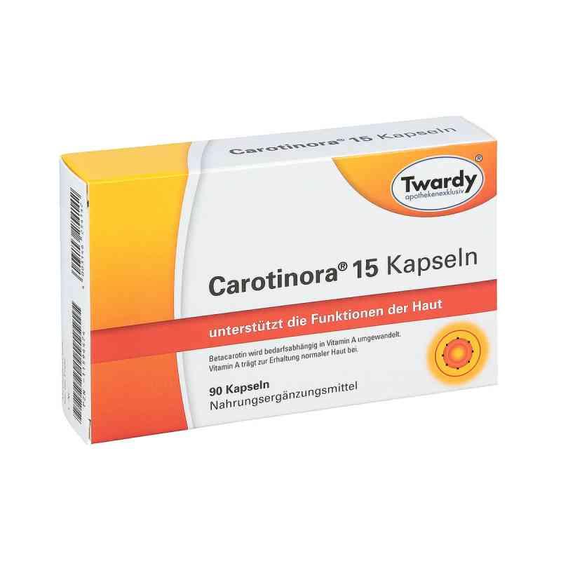 Carotinora 15 Kapseln  bei juvalis.de bestellen