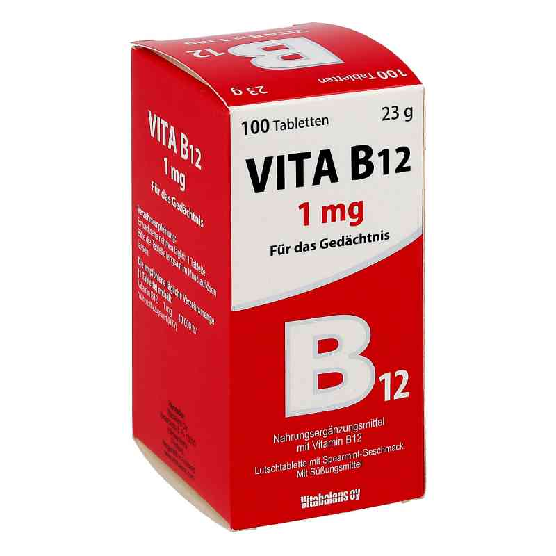 Vita B12 1 mg Lutschtabletten  bei juvalis.de bestellen