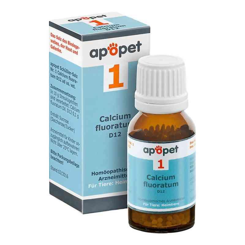 Apopet Schüssler-salz Nummer 1 Calcium fluor.D 12 veterinär  bei juvalis.de bestellen