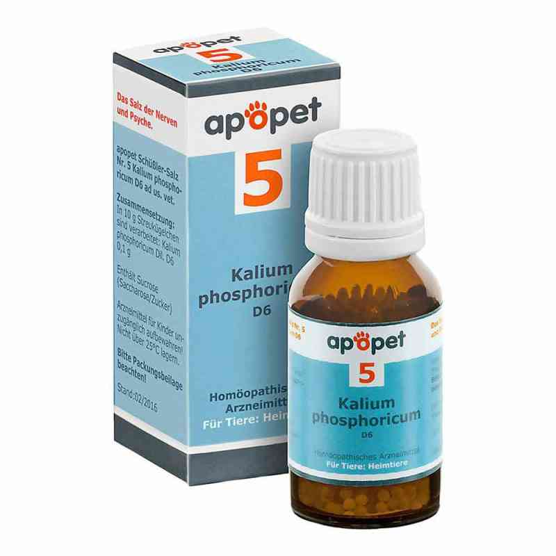Apopet Schüssler-salz Nummer 5 Kalium phosphoricum D6 veterinär  bei juvalis.de bestellen