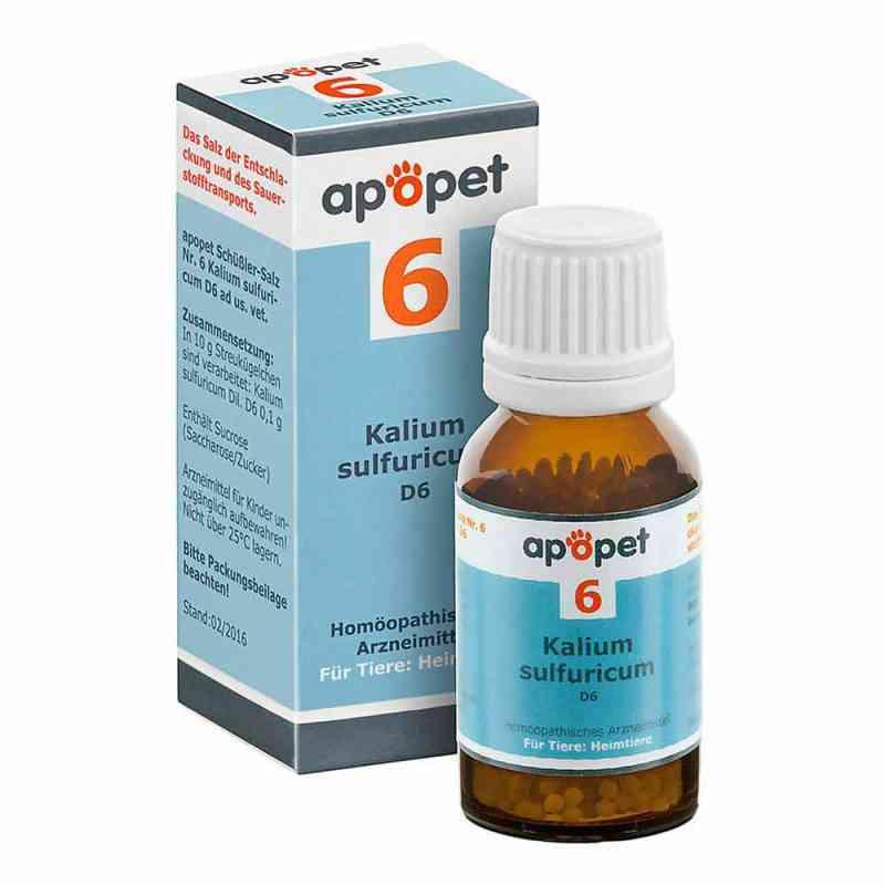 Apopet Schüssler-salz Nummer 6 Kalium sulf.D 6 veterinär  bei juvalis.de bestellen