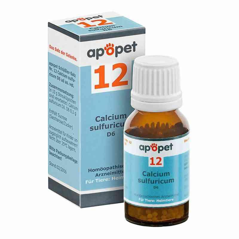 Apopet Schüssler-salz Nummer 12  Calcium sulf.D 6 veterinär   bei juvalis.de bestellen