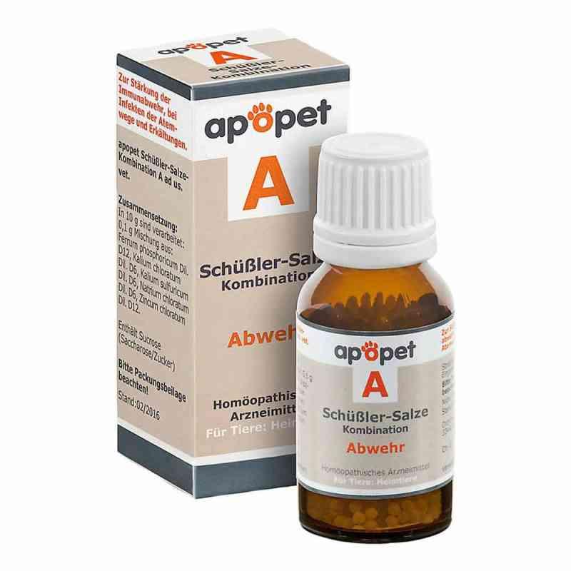 Apopet Schüssler-salze-kombination A ad usus vet.Gl.  bei juvalis.de bestellen