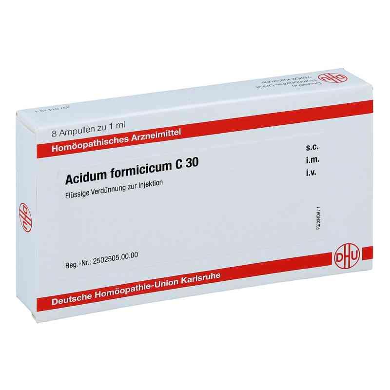 Acidum Formicicum C 30 Ampullen  bei juvalis.de bestellen