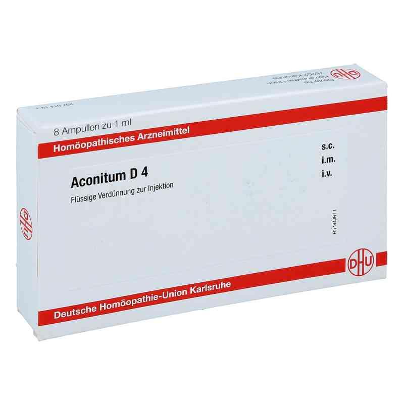 Aconitum D 4 Ampullen  bei juvalis.de bestellen
