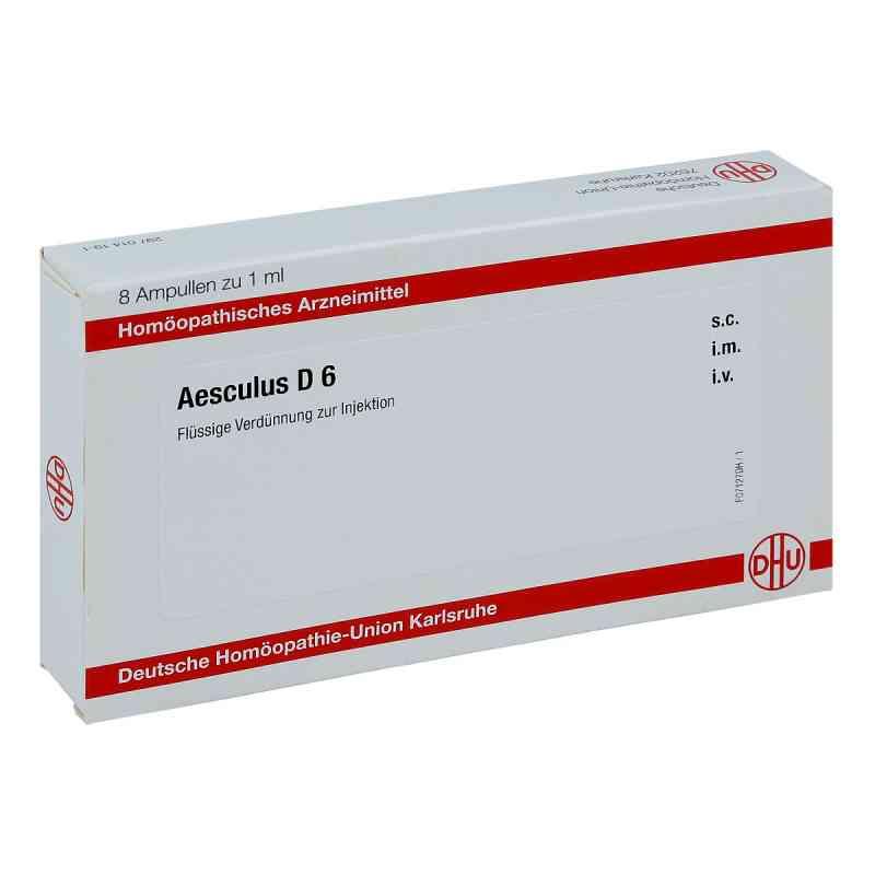 Aesculus D 6 Ampullen  bei juvalis.de bestellen