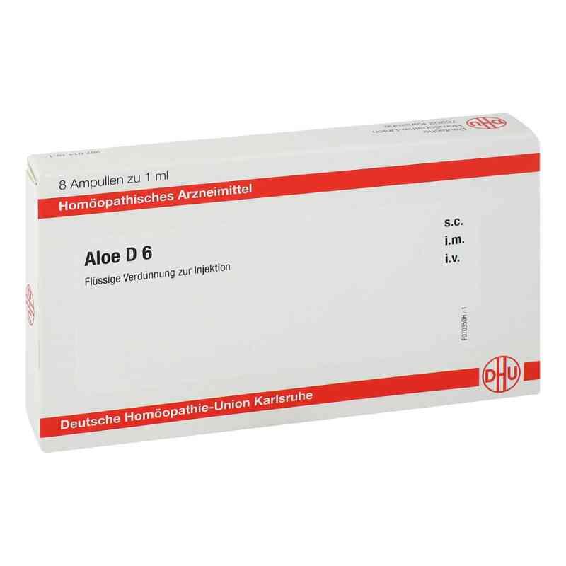 Aloe D 6 Ampullen  bei juvalis.de bestellen