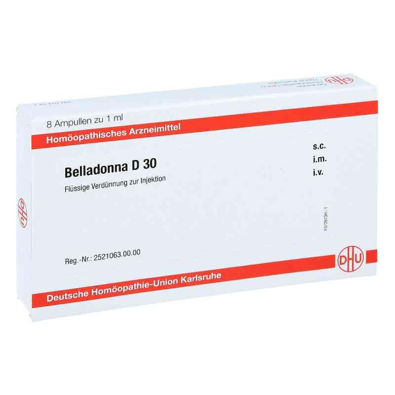 Belladonna D 30 Ampullen  bei juvalis.de bestellen