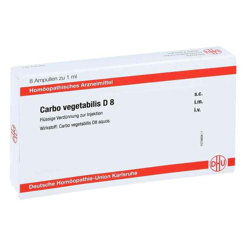 Carbo Vegetabilis D 8 Ampullen  bei juvalis.de bestellen