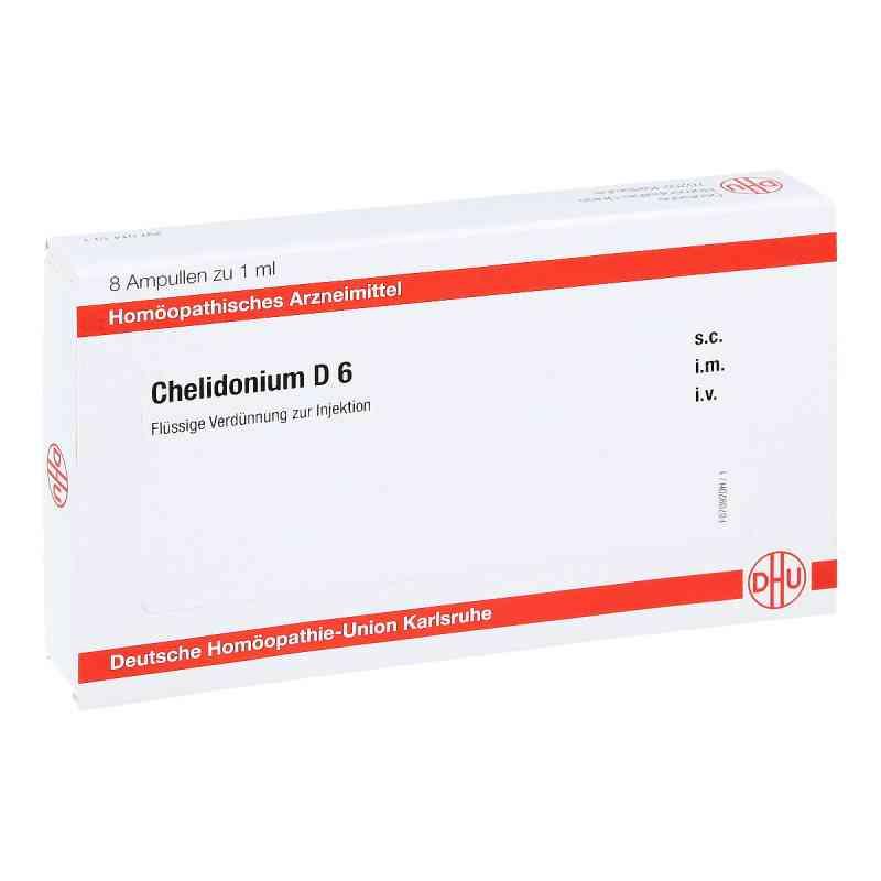 Chelidonium D 6 Ampullen  bei juvalis.de bestellen