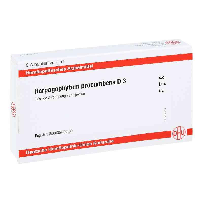 Harpagophytum Procumbens D 3 Ampullen  bei juvalis.de bestellen
