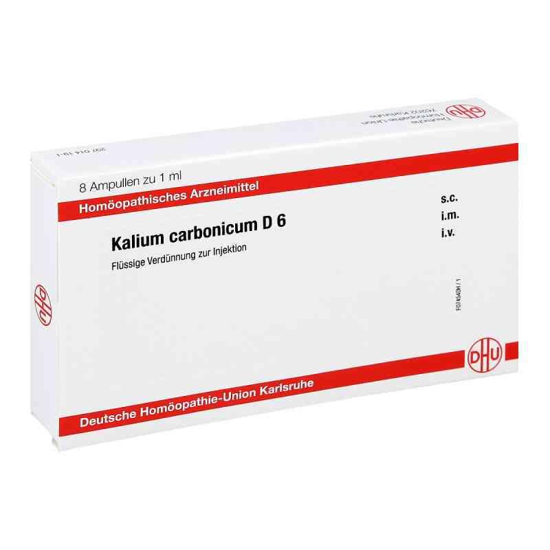 Kalium Carbonicum D 6 Ampullen  bei juvalis.de bestellen