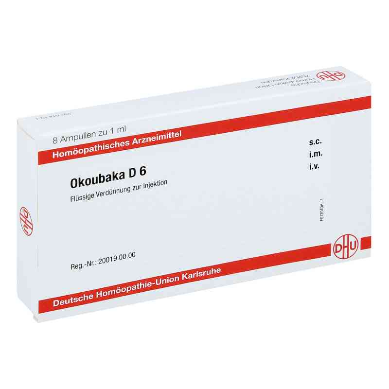 Okoubaka D 6 Ampullen  bei juvalis.de bestellen