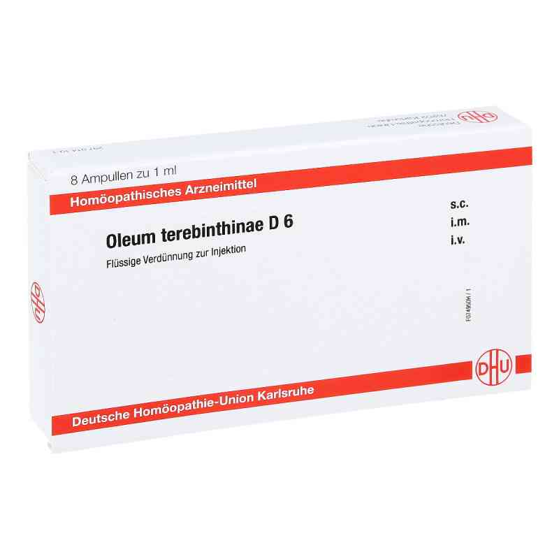 Oleum Terebinthinae D 6 Ampullen  bei juvalis.de bestellen