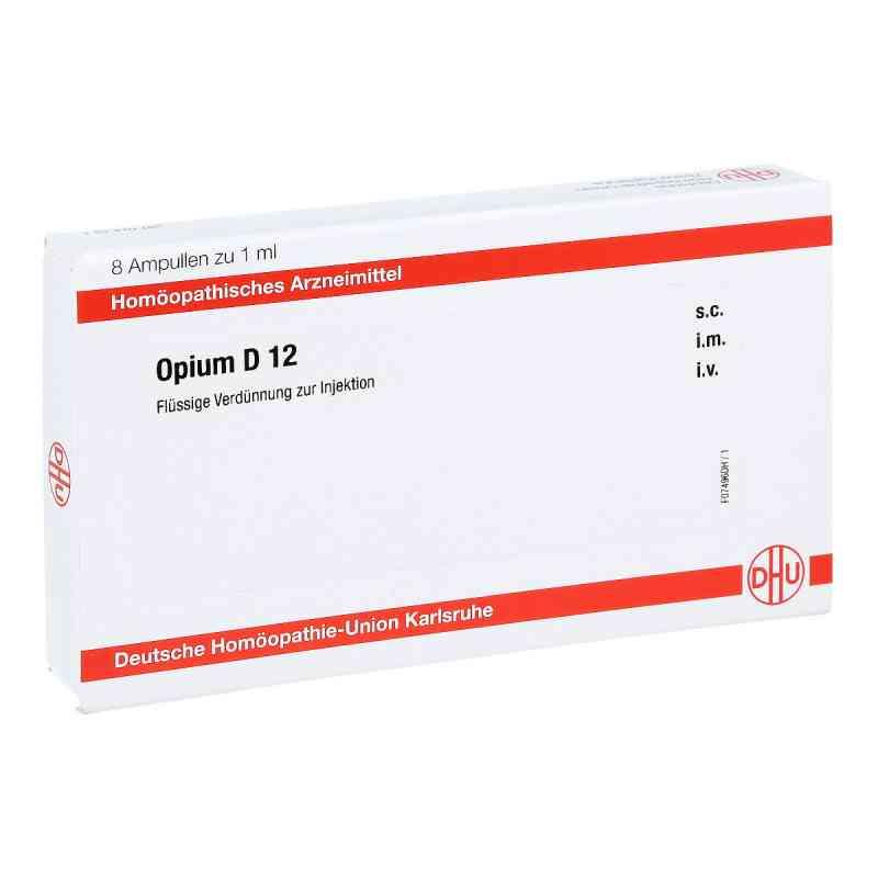 Opium D 12 Ampullen  bei juvalis.de bestellen
