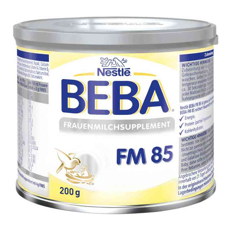 Nestle Beba Fm 85 Frauenmilchsupplement Pulver  bei juvalis.de bestellen