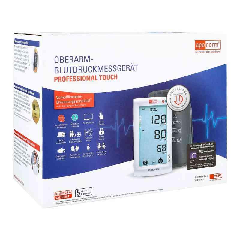Aponorm Blutdruck Messgerät Prof.touch Oberarm  bei juvalis.de bestellen
