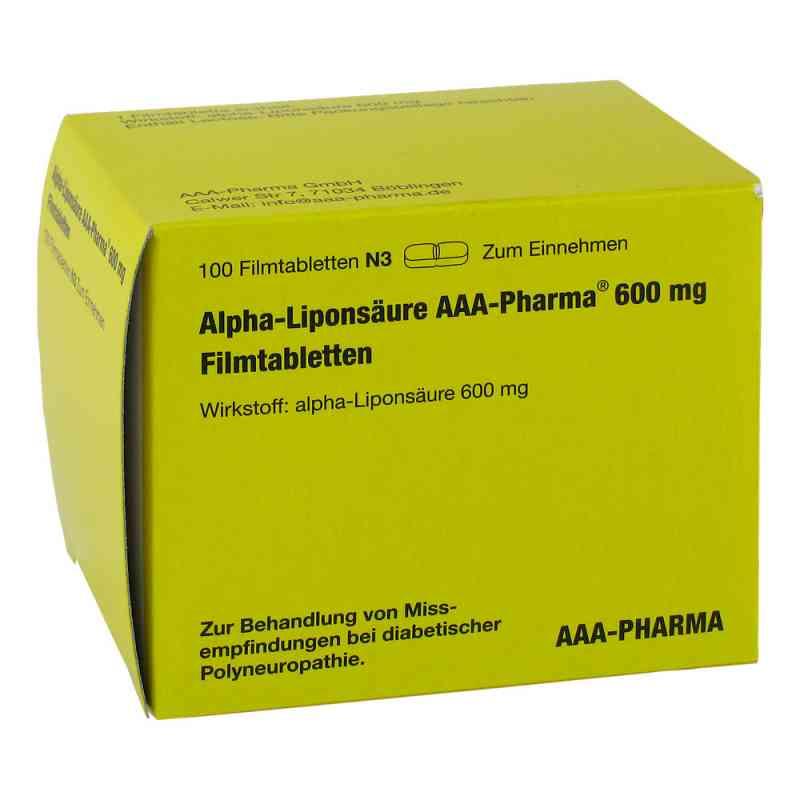 Alpha Liponsäure Aaa Pharma 600 mg Filmtabletten  bei juvalis.de bestellen
