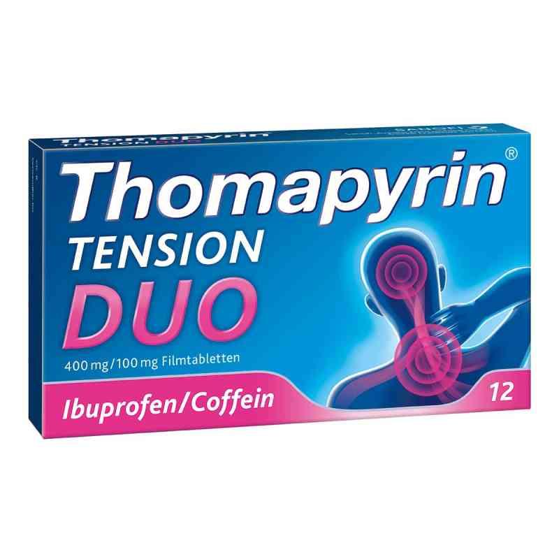 Thomapyrin Tension Duo 400 mg/100 mg Filmtabletten  bei juvalis.de bestellen