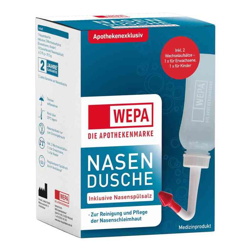 Wepa Nasenspülkanne mit 10x2,95 g Nasenspülsalz  bei juvalis.de bestellen