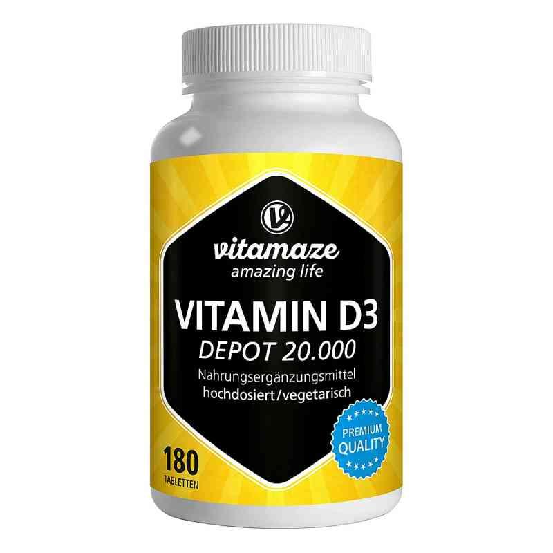 Vitamaze VITAMIN D3 20.000 internationale Einheiten Depot hochdo  bei juvalis.de bestellen