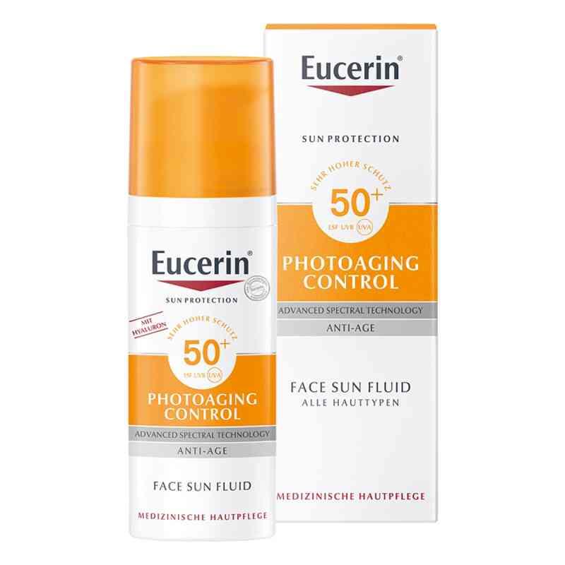 Eucerin Sun Fluid Photoaging Control Lsf 50  bei juvalis.de bestellen