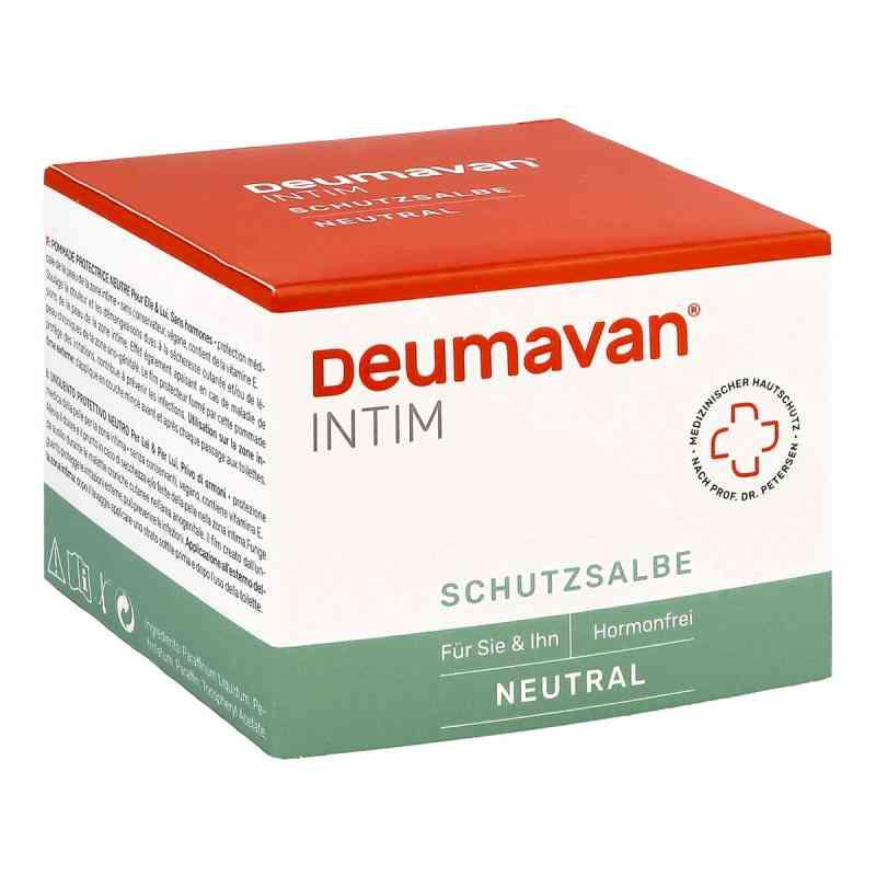 Deumavan Schutzsalbe neutral Dose  bei juvalis.de bestellen