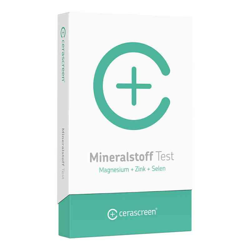 Cerascreen Mineralstoff-analyse Test  bei juvalis.de bestellen