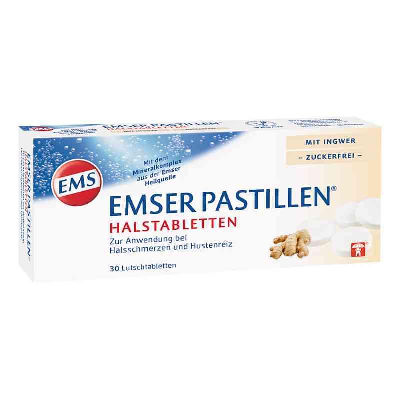 Emser Pastillen Halstabletten mit Ingwer zuckerfrei  bei juvalis.de bestellen