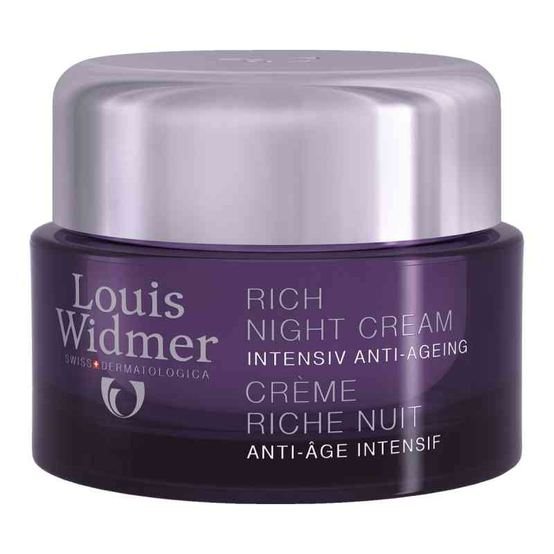Widmer Rich Night Cream leicht parfümiert  bei juvalis.de bestellen