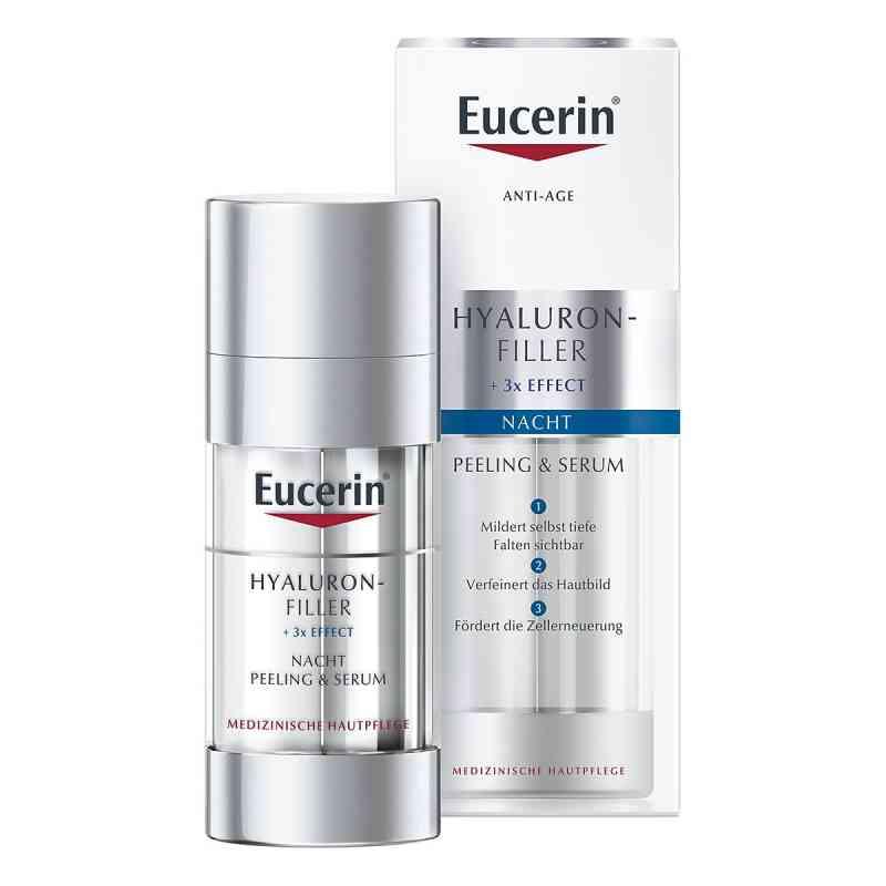 Eucerin Anti-age Hyaluron-filler Nacht Peel.+serum  bei juvalis.de bestellen