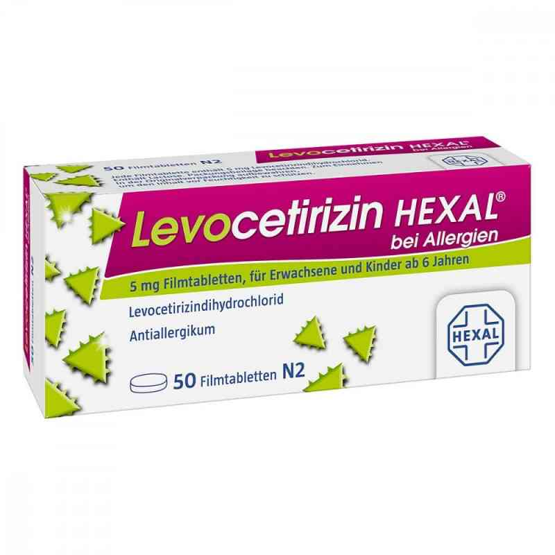 Levocetirizin Hexal bei Allergien 5 mg Filmtabletten  bei juvalis.de bestellen