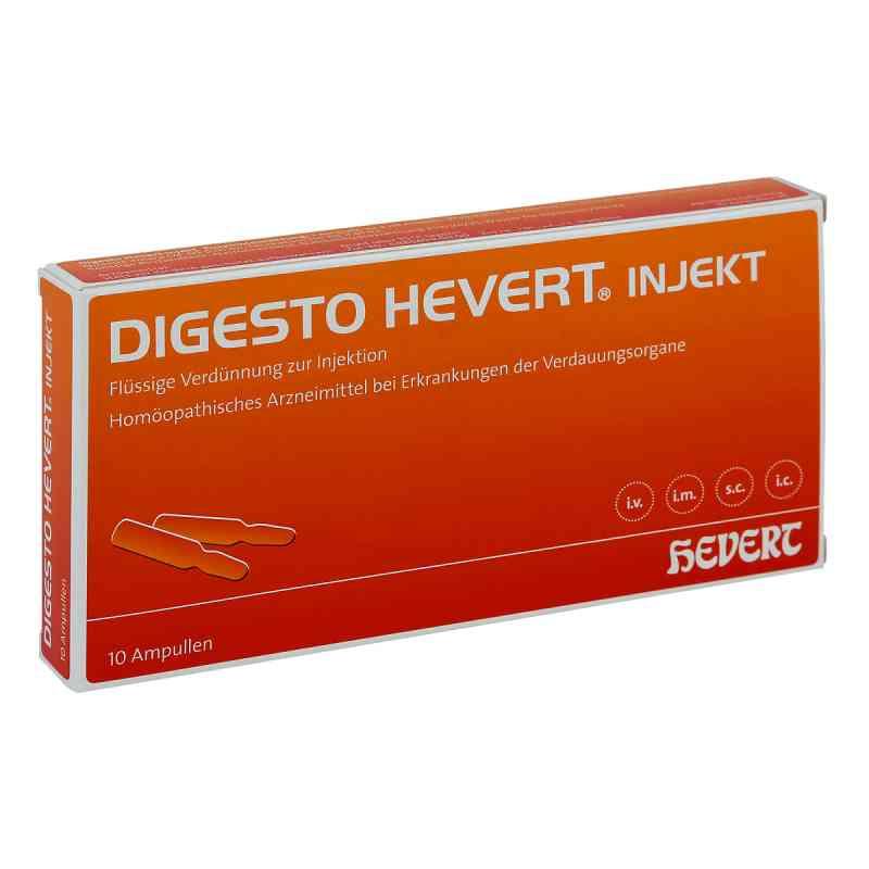 Digesto Hevert injekt Ampullen  bei juvalis.de bestellen
