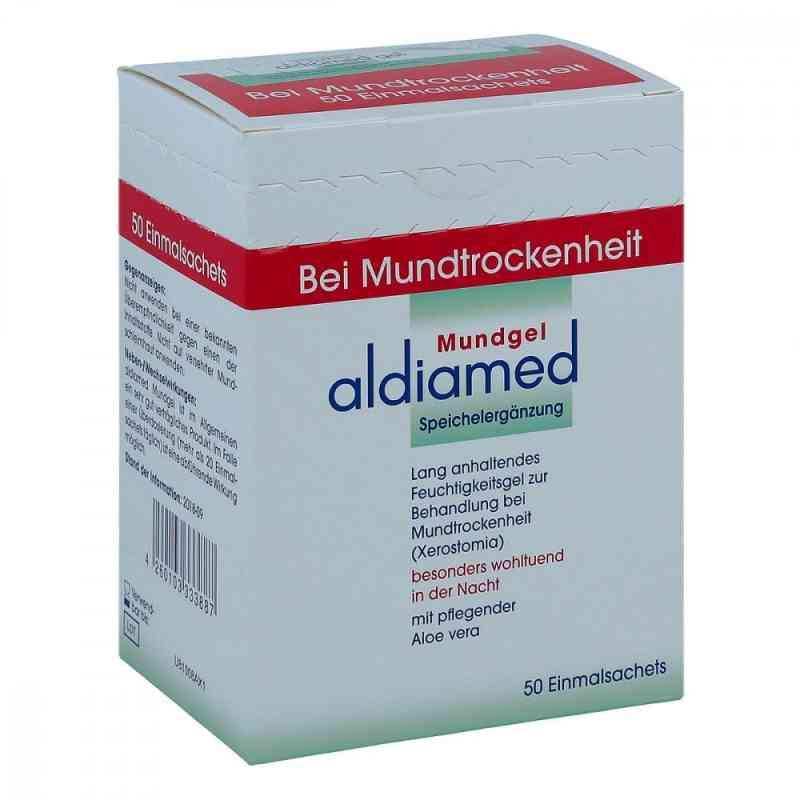 Aldiamed Mundgel zur, zum Speichelergänzung Einmalsachets  bei juvalis.de bestellen
