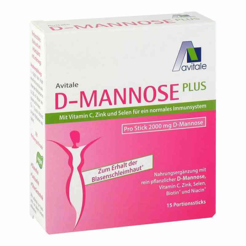 D-mannose Plus 2000 mg mit Vit.u.Mineralstof.Sticks  bei juvalis.de bestellen