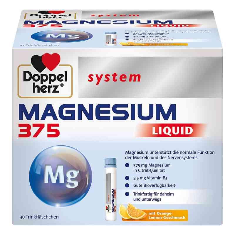 Doppelherz Magnesium 375 Liquid system Trinkampulle (n)   bei juvalis.de bestellen