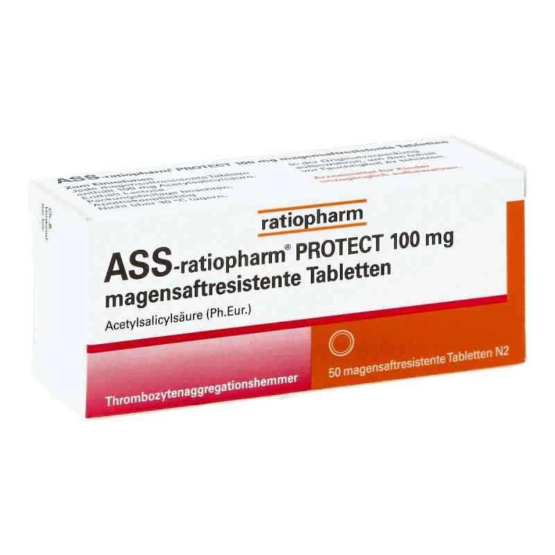 Ass-ratiopharm Protect 100 mg magensaftresistent Tabletten  bei juvalis.de bestellen