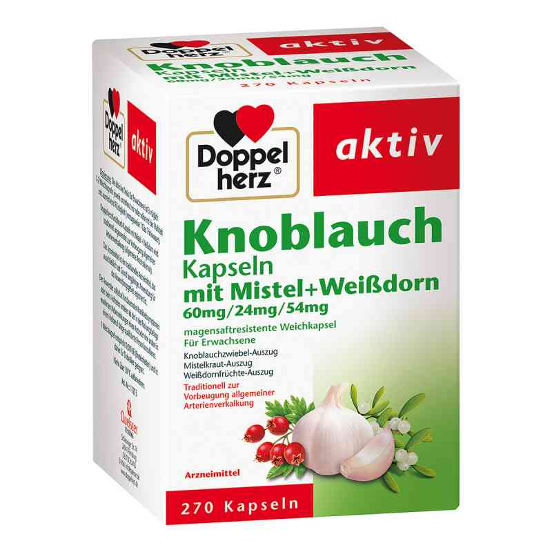 Doppelherz Knobl.kap.m.mistel+weissdorn 60/24/54 m  bei juvalis.de bestellen