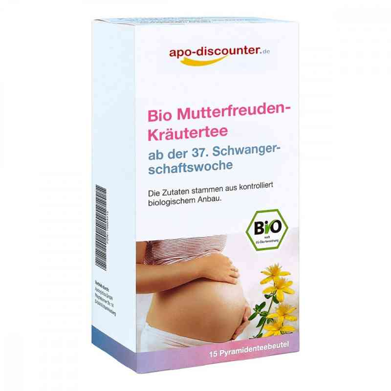 Bio Mutterfreuden-Kräutertee mit Himbeerblätt.Fbtl. von apo-disc  bei juvalis.de bestellen