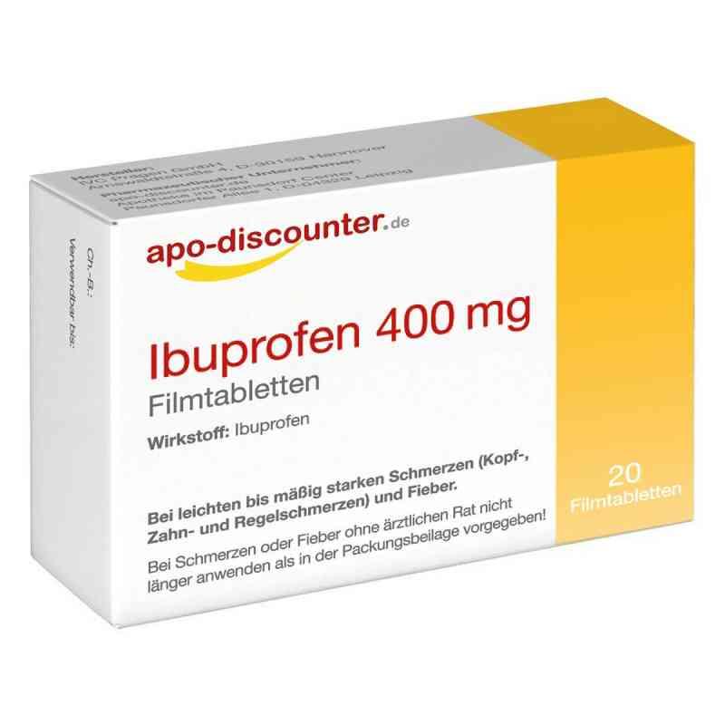 Ibuprofen 400 mg FTA Schmerztabletten von apo-discounter  bei juvalis.de bestellen