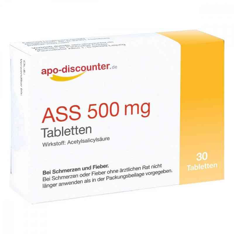 Ass 500 mg Tab apo-discounter  bei juvalis.de bestellen