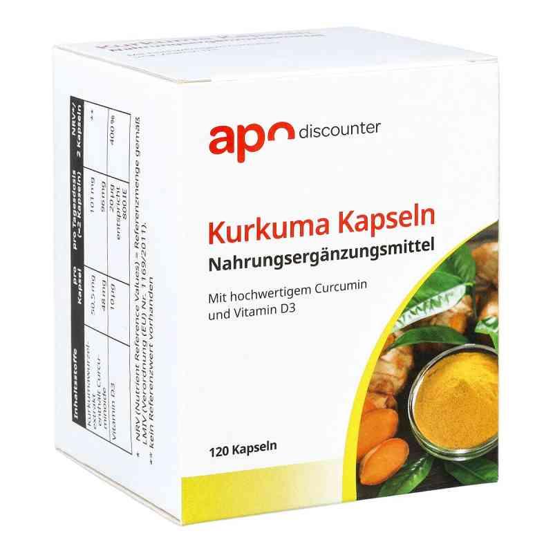 Kurkuma Kapseln mit Curcumin von apo-discounter  bei juvalis.de bestellen