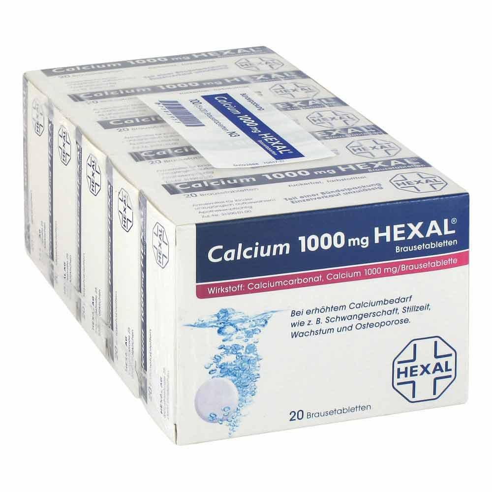 calcium 1000mg hexal 100 stk kaufen online apotheke juvalis. Black Bedroom Furniture Sets. Home Design Ideas