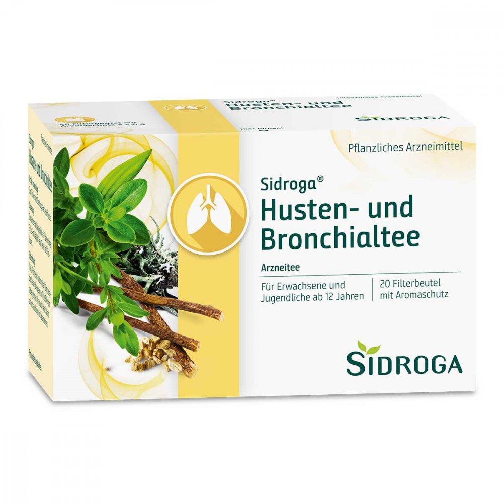 Sidroga Husten- und Bronchialtee Filterbeutel 20X2.0 g