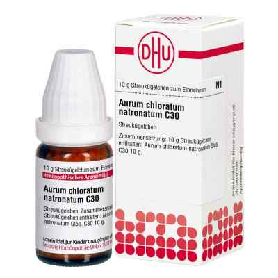 Aurum Chloratum Natronatum C 30 Globuli  bei juvalis.de bestellen