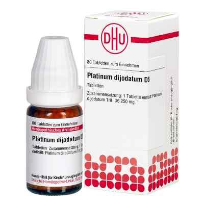Platinum Dijodatum D 6 Tabletten  bei juvalis.de bestellen