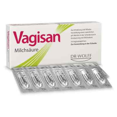 Vagisan Milchsäure Vaginalzäpfchen  bei juvalis.de bestellen